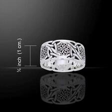Celtic Trinity Knot Ring TRI874 Size Selectable