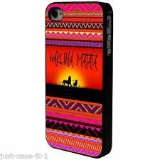 HAKUNA MATATA AZTEC   Phone Case/Cover UK STOCK. iPhone 4 4s 5 5s 5c