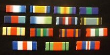 WW1 Medal Ribbon Pin WW11 Medal Ribbon Pin GSM Medal World War Two Medal Ribbon