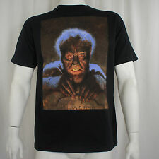 Authentic UNIVERSAL MONSTERS Chaney THE WOLFMAN Grave Photo T-Shirt S-2XL NEW