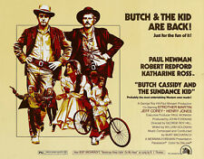 """BUTCH CASSIDY AND THE SUNDANCE KID "" Vintage Movie Poster A1A2A3A4Sizes"