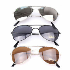 New Cool Children Toddler Kids Aviator UV400 Protection Metal Frame Sunglasses