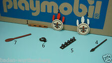 Playmobil 3733 indians series Teepee house clip shield canoe padlet CHOOSE 170