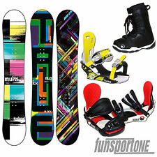 KINDER SNOWBOARD SET`S~ 115 / 125 / 130 / 135 CM + BINDUNG + BOOTS + PAD + LEASH
