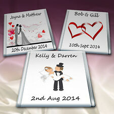 50 Personalised Chocolate.Wedding Favours. Birthday Party TOP QUALITY 4 Flavours