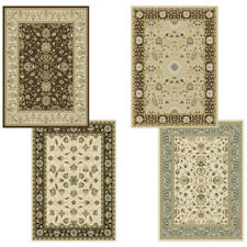 "Traditional Oriental Vines Area Rug 8x11 Persian Border Carpet Actual 7'8""x10'4"""