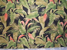 Lee Jofa Rain Forest tropical foliage fabric by the yard multiple colorways