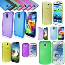 Ultra Thin 0.3mm Light Weight Frosted Shell Case Cover for Samsung Apple iPhone