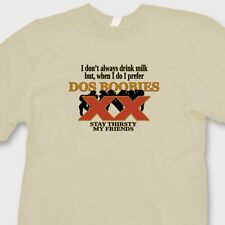 DOS BOOBIES College Humor T-shirt Funny Dos Equis Beer Parody Tee Shirt