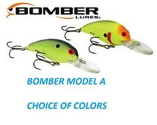 BOMBER MODEL 6A, 3/8 oz, NEW, CHOICE OF COLORS