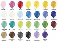 "50 plain 11"" Latex Party Balloons Choose from 27 colours-  Belbal B95P"