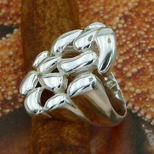 STERLING SILVER STYLISH RING SOLID .925 /NEW SIZE J-Y JEWELLERY