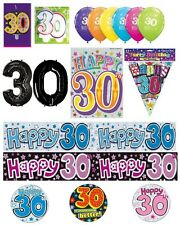 30th Birthday AGE 30 - Large Range of Party BADGES - Small/Large/Giant/Shaped