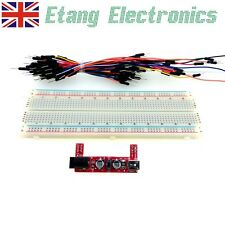 830 Tie Point MB-102 Breadboard with Power Module and Jumper Leads Kit