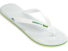 Ipanema Flag Mens Flip Flops / Sandals - White 040020 - See Sizes