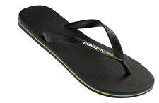 Ipanema Flag Mens Flip Flops / Sandals - Black 040020 - See Sizes