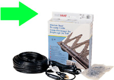 NEW ADKS Easy Heat Roof Gutter DE-ICING Ice Snow Melter Cable Tape Kit PICK SIZE