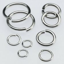 Pick Jewelry Findings accessories Strong stainless steel Jump Ring & Open Ring