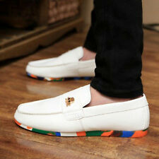 New Men's Casual Leather Slip Ons Loafers Driving Moccasins Shoes Sneakers SM5
