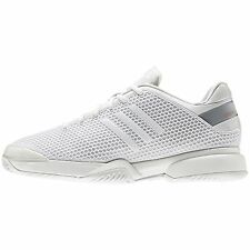 ADIDAS STELLA BARRICADE 8 -  womens tennis shoe  - white/orange - Auth Dealer