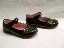Girls Little Star Slip On Velcro Strap Smart Formal Shoe, 2 Designs, SS5 + SS1