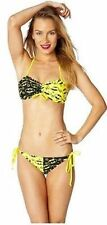 Summer '14 Batgirl Bandeau Split Dc Comics Batman Bikini Bathing Suit Swimwear