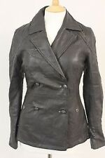 Ladies Womens Firetrap Guanabo Military Leather Jacket