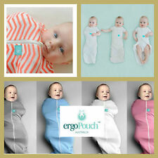 Ergo Cocoon 2 in 1 Swaddle & Sleeping Bag 1 TOG, Pure Organic Cotton, 6 Colours
