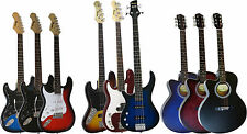 BENSON LEFT HANDED ELECTRIC  GUITAR AND BASS PACKAGE  AMPLIFIER OPTION