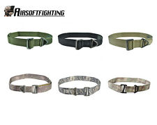 6Color Airsoft Tactical CQB/Emergency Steel Buckle Rescue Belt Ver2 Black/TAN B