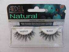 ARDELL FASHION LASHES WISPIES IN BLACK. CHOOSE WITH OR WITHOUT GLUE.