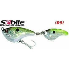 SEBILE SPIN SHAD, 1/2 oz, ICAST AWARD WINNER,  CHOICE OF COLORS