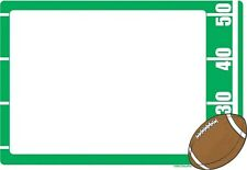 FOOTBALL EDIBLE IMAGE FRAME CAKE DECORATION! TOPPER! YOUR PICTURE! FREE SHIPPING