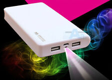 50000mAh Universal Backup 2 USB Battery Power Bank Pack Charger External Battery