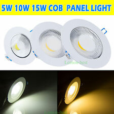 Bright 5W 10W 15W LED Recessed Ceiling Panel Down Light Wall Mount Bulb Lamp New