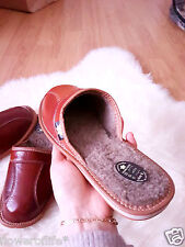 New Mens Leather Slippers Brown Shoes Size 7 8 9 10 11 12 13 Luxury Flip-Flop
