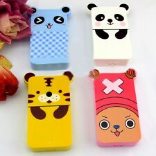 Lovely Cute Animal Design Cartoon Contact Lens Case Box Set Container Holder Kit