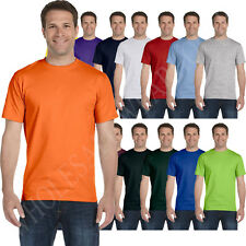NEW Hanes Men's ComfortSoft Heavyweight 100% Cotton  Tagless S-3XL T-Shirt M5280