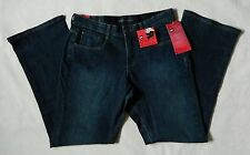 NEW Lee Comfort Fit Barely Bootcut Stretch Womens Luxe Blue Jeans Many Sizes