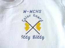 Personalized Girls Youth Colorguard Winterguard Flag Shirt Squad Competition