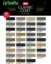 SEM Automotive Material Dye, SEM Classic Coat, Changes or Renews Vinyl & Leather