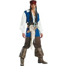 Jack Sparrow Pirates Of the Caribbean Mens Adult Costume