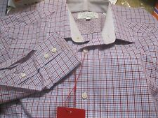 nwt TED BAKER SHIRT ALL SOFT YR ROUND COTTON LORD TAYLOR CLASSIC FIT
