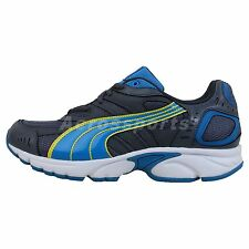 Puma Xenon Grey Navy Blue 2014 New Mens Classic Running Shoes Runner Sneakers