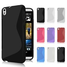 S-line Soft TPU Gel Back Case Cover Skin for HTC Desire 816 Phone