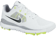 Nike Tiger Woods TW 2014 Mesh Golf Shoes White/Volt 652627-100 Mens New