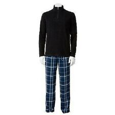 CROFT & BARROW MEN'S SLEEP SET SIZE MED OR LARGE NEW/TAGS (SHIRT AND PANTS)