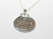 Lucky Sixpence Birthday / Anniversary sixpence coin pendant plus 18inch chain