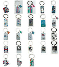 Official London 2012 Olympic & Paralympic Games Keyrings & Keychain Memorabilia