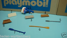 Playmobil 3225 adventure series boat motor row boat paddles seat CHOOSE 220